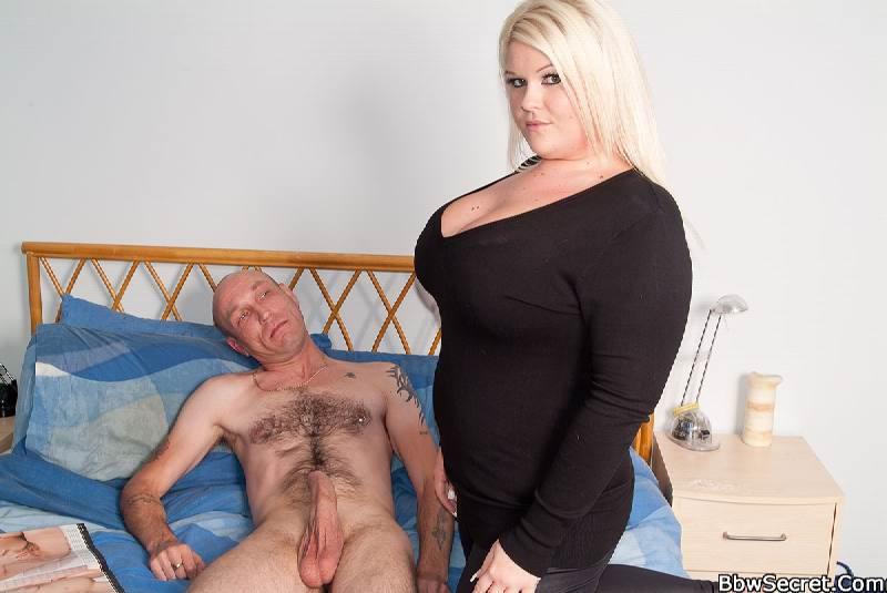 Секс фото толстые блондинки