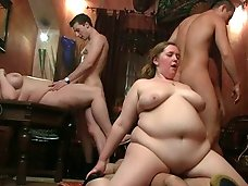 Hot fat chicks strip for
