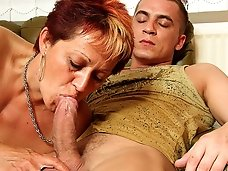 Lusty mature with sexy